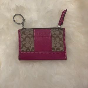 *95% New* Coach Key/Coin/ID Case/Card Holder